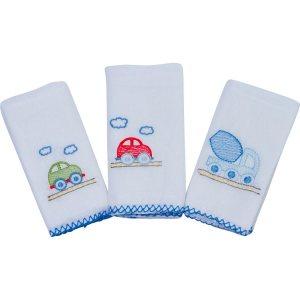 PapC3AD-Babete-Bordados-Papi-Toys-Gifts-Azul-Escuro-3-Unidades-PapC3AD-7819-00365-1