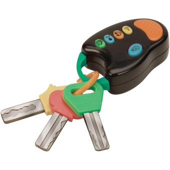 Chaveiro pois eles adoram colocar uma chave na boca - Dican