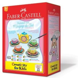 Linha especial de Faber Castel para pintura de louças