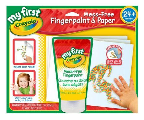 Tinta para pintura com os dedos Crayola