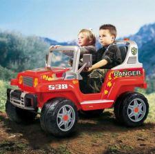 Ranger 538 - Da Pég Perego aventura garantida para seu filhote e um carona