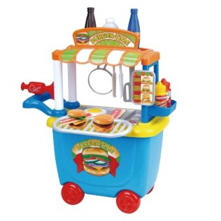 Food Truck de Hamburguer para seu mini chef da Multikids
