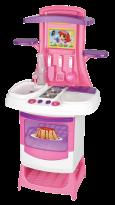 Cozinha Mini Chef da Magic Toys - Detalhe para a pia que tem água de verdade