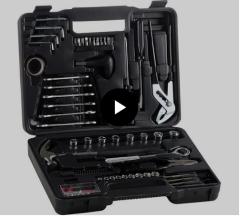 Kit de Ferramentas com 141 peças - R$ 79,99 Intech Machine -