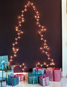 arvore de Natal de parede 1